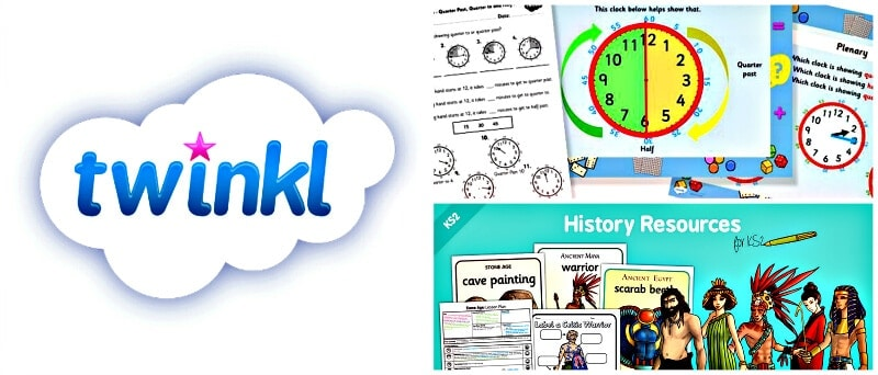 Twinkl educational site