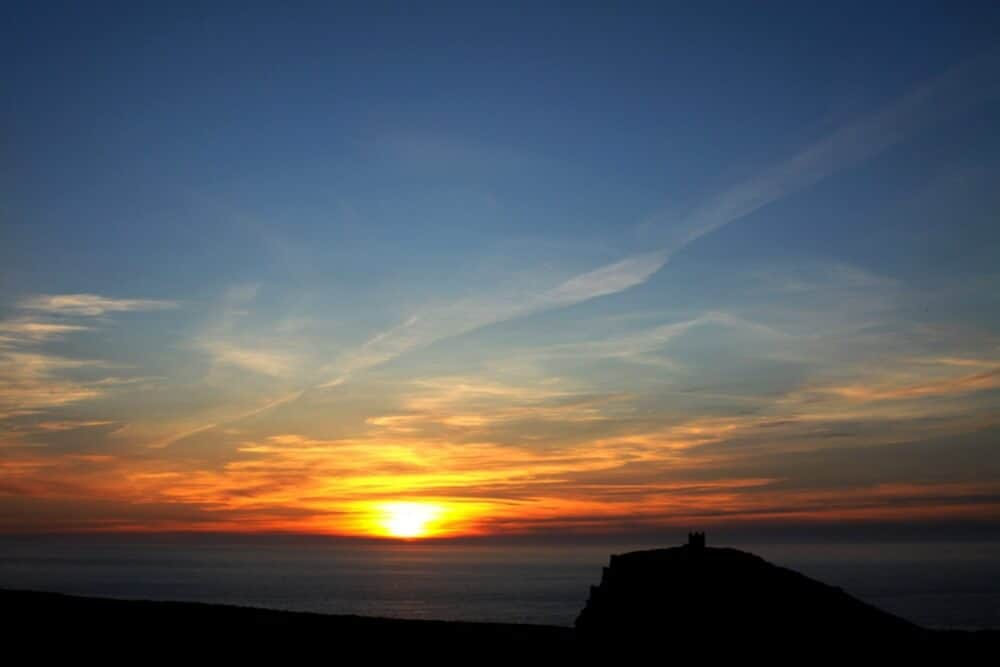 Summer Sunset Boscastle - The Picture Parlour