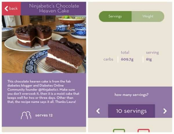 Cook & Count the new App Making Carb Counting for Diabetes Easy!