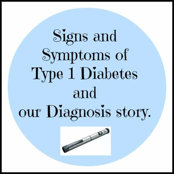signs and symptoms of type 1 diabetes