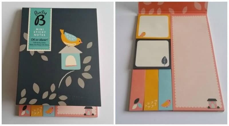 Busy B Diary Sticky Notes