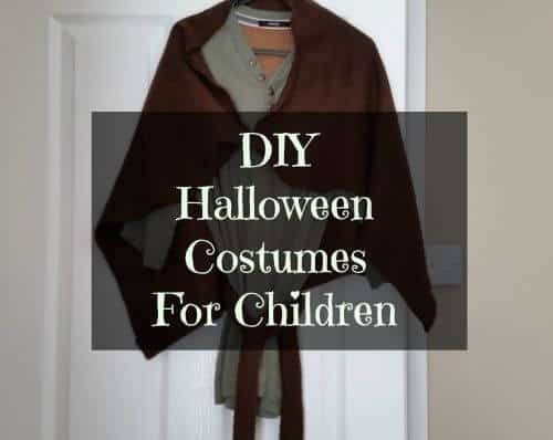 Cheap DIY Halloween Costumes for Children