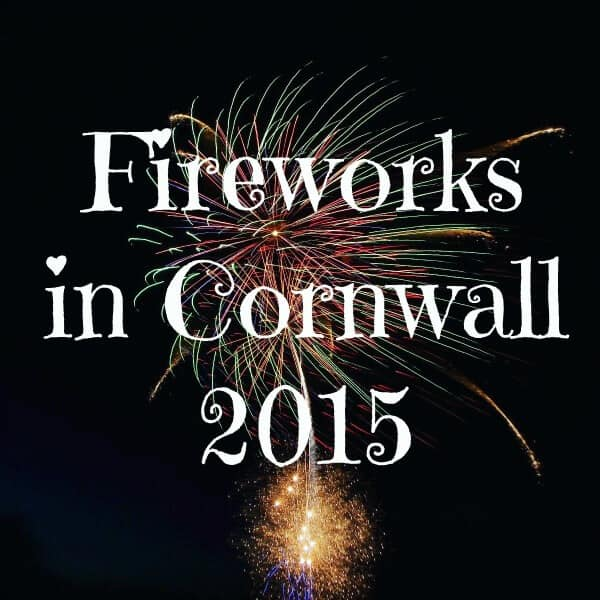 Fireworks in Cornwall 2015