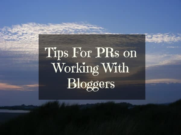 Tips for PRs on Working With Bloggers