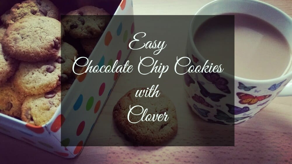 Easy Choc Chip Cookies with Clover