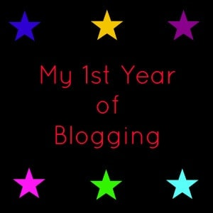1st year of blogging