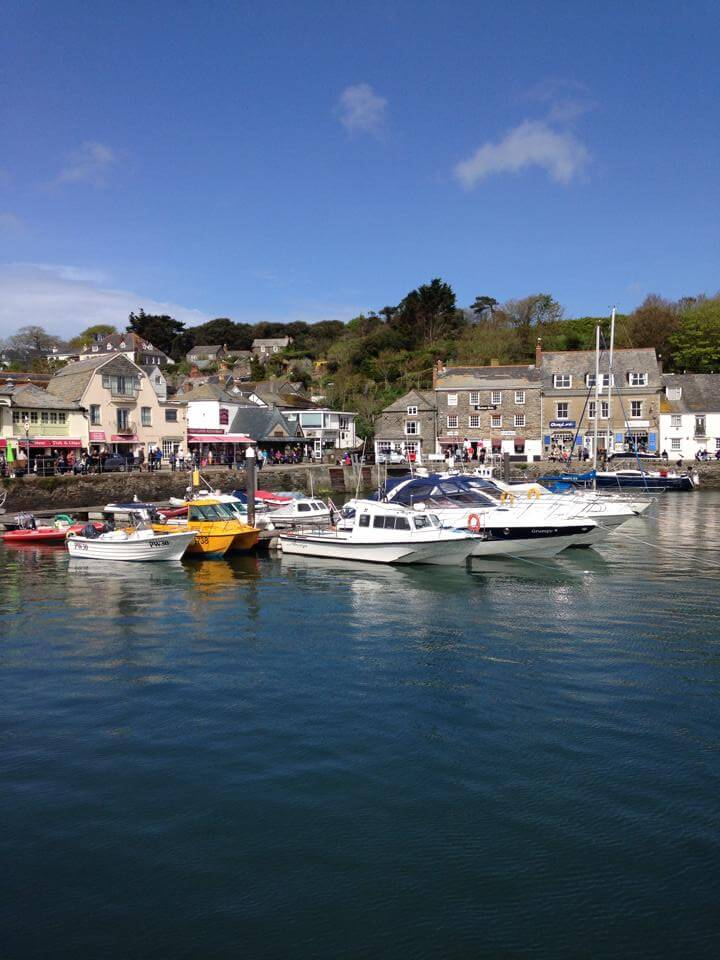 Harbour at Padstow Cornwall