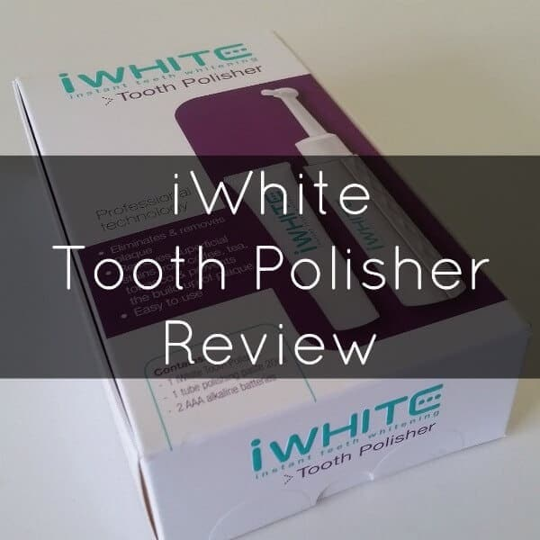 iWhite tooth polisher review