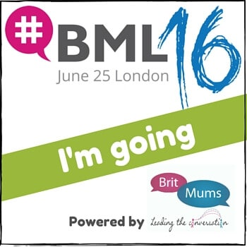 I am Going to Britmums Live #BML16