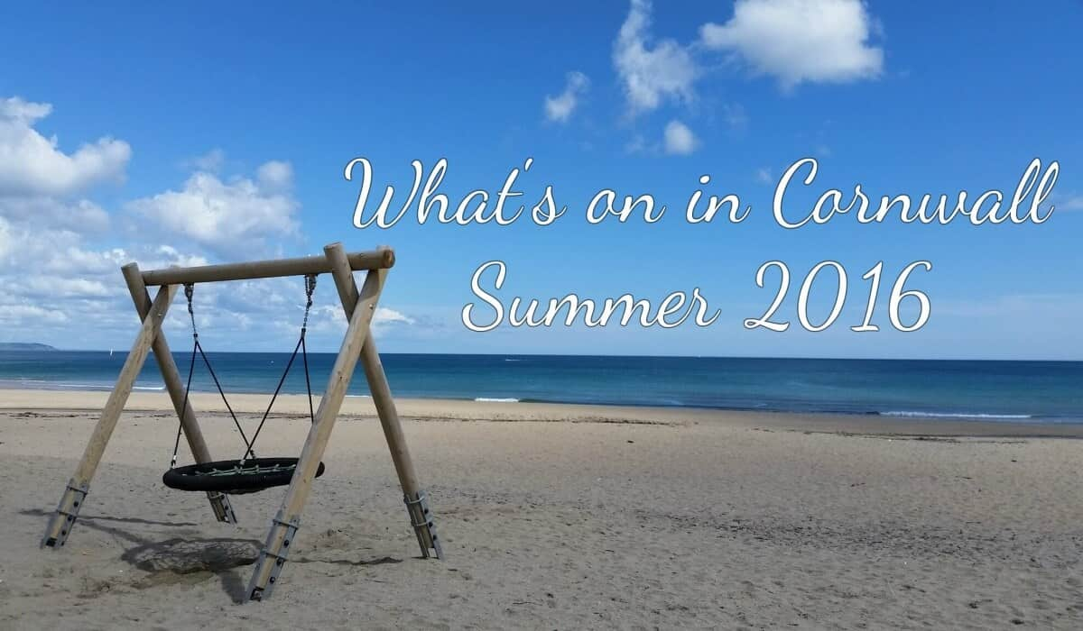 What is on in Cornwall 2016