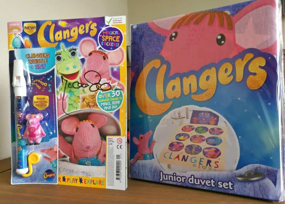 Clangers prize - giveaway