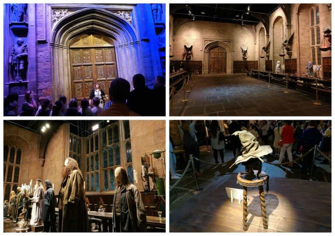 Harry Potter doors and hall