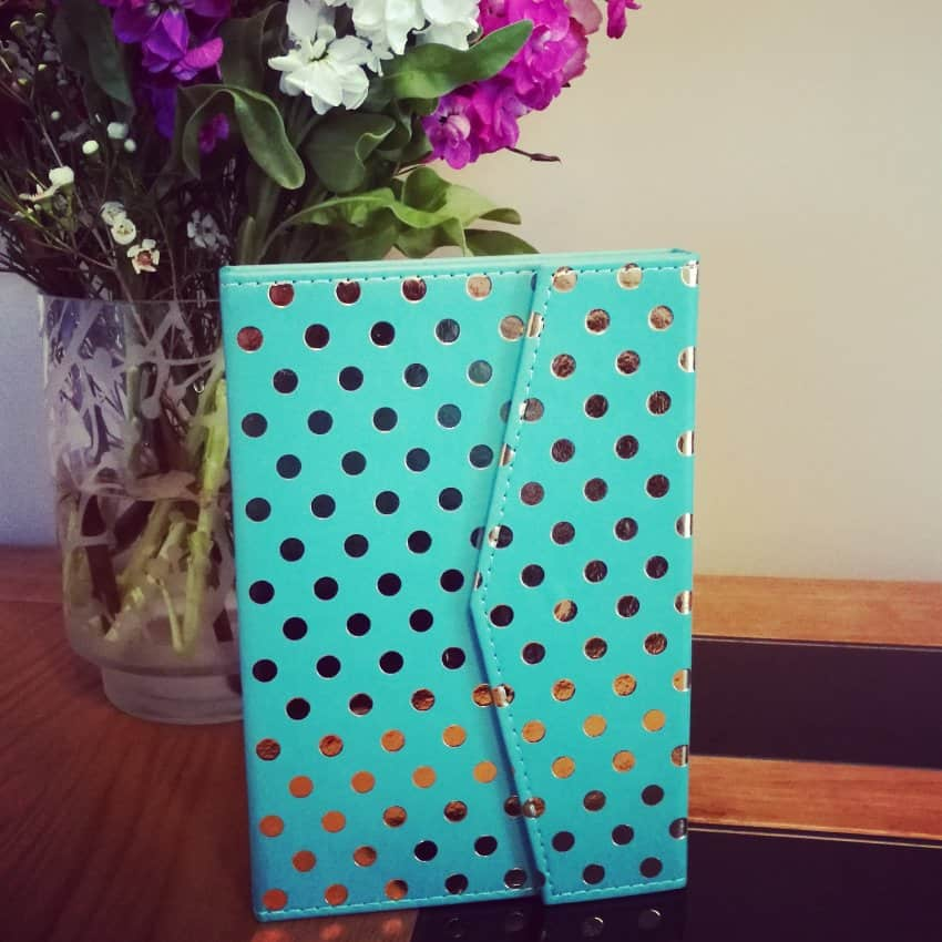 New polkadot Paperchase notebook