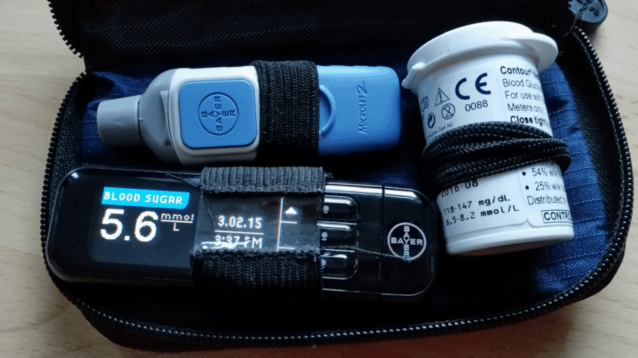 Type 1 Diabetes blood test kit