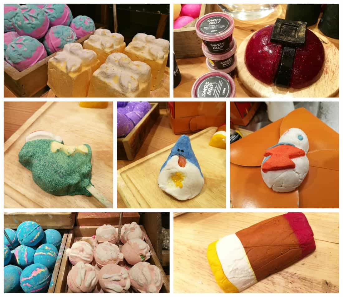 Lush Christmas 2016 products