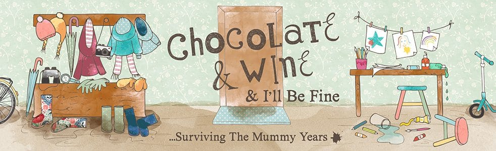 Chocolate and wine and I'll be fine blog