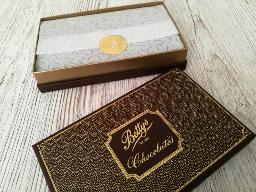 Chocolate from Bettys for Valentine's Day
