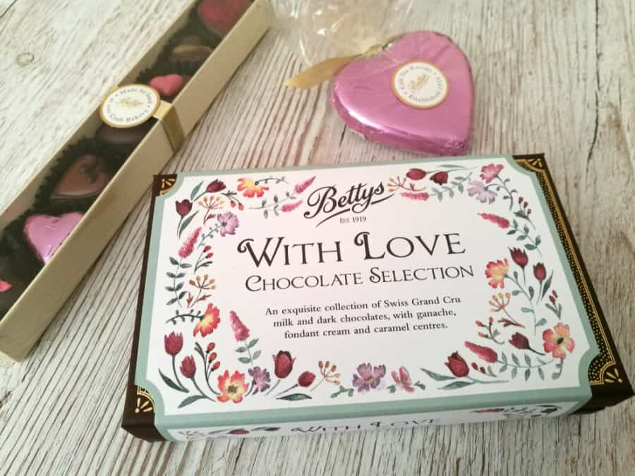 Valentines Day with Bettys chocolate