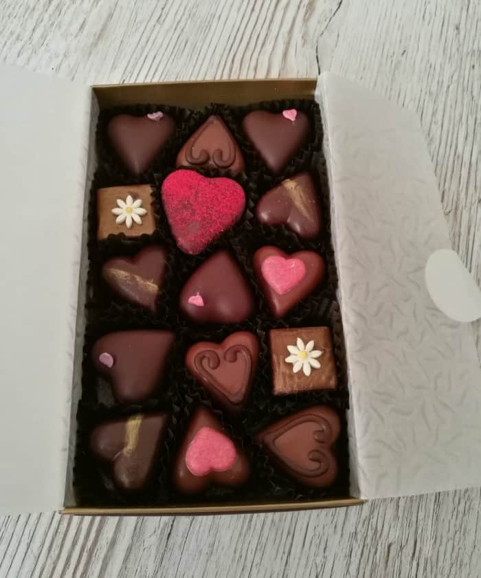 Bettys Valentine's Day chocolates
