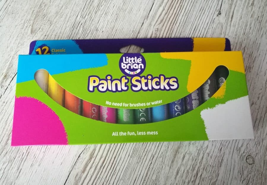 Colour&Fun Paint Sticks