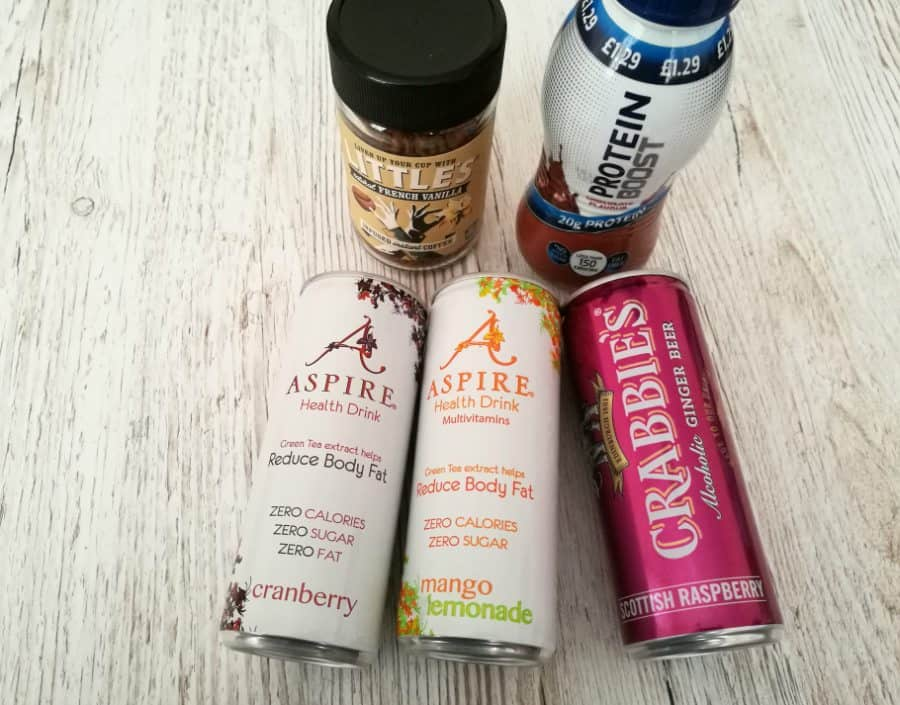 January 2017 Degustabox drinks