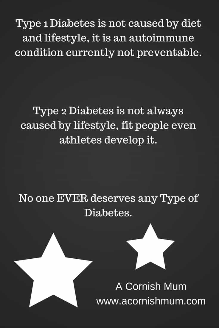 The Unfair Stigma of Diabetes - A Cornish Mum