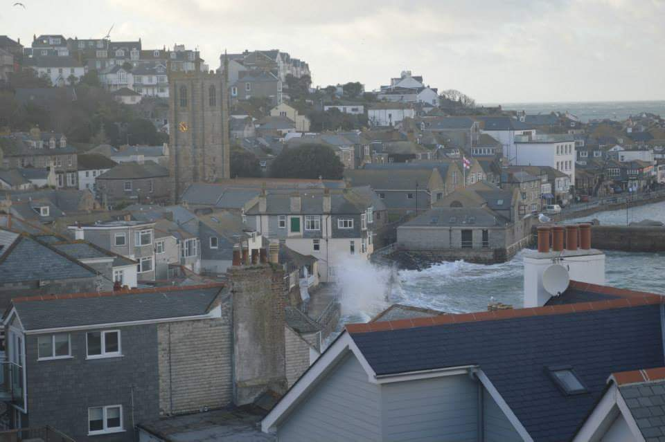 Stormy St Ives