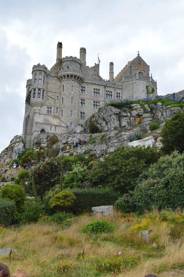 Photos of Cornwall with East Sussex Mummy - St Michael's Mount