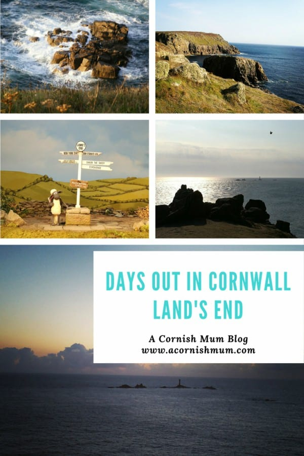 Days out in Cornwall - Land's End - A Cornish Mum blog