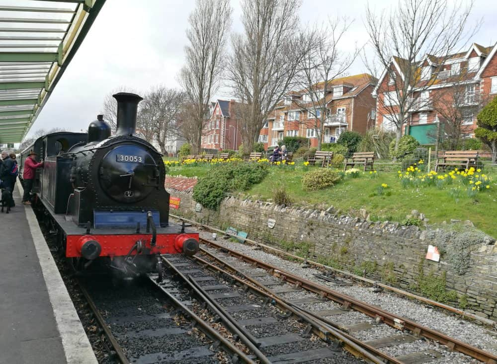 Steam Train from Corfe Castle to Swanage