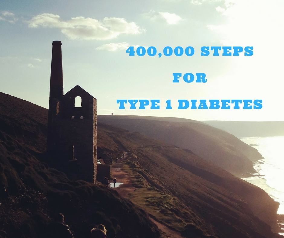 400,000 Steps For Type 1 Diabetes