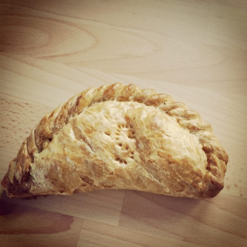 Cornish Pasty - diet lies I tell myself