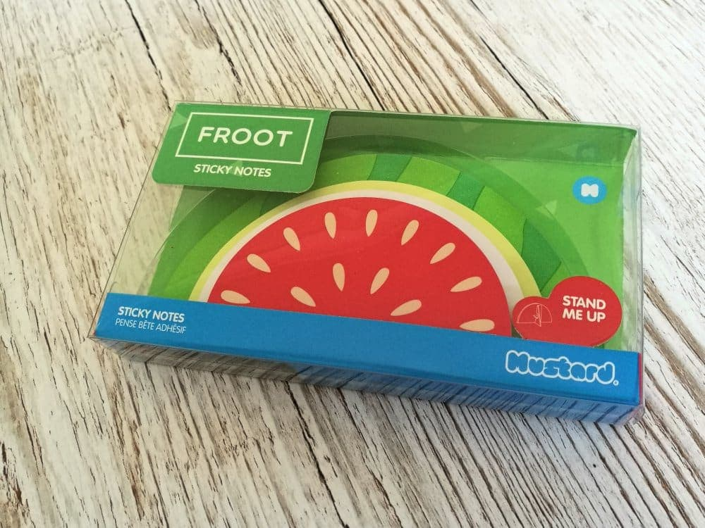 Watermelon Post It Notes - National Stationery Week