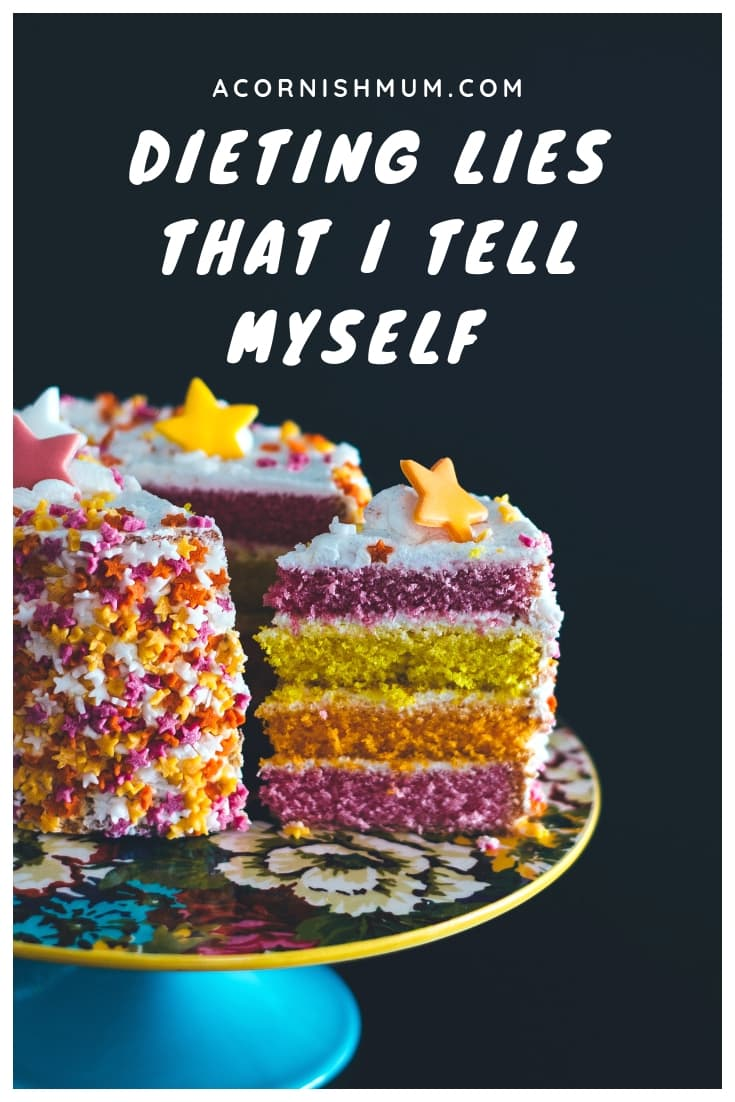 dieting lies that I tell myself - humour