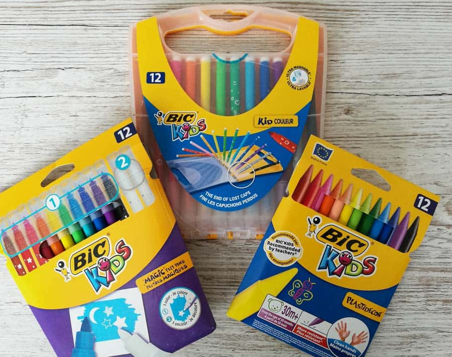 Bic Kids stationery giveaway