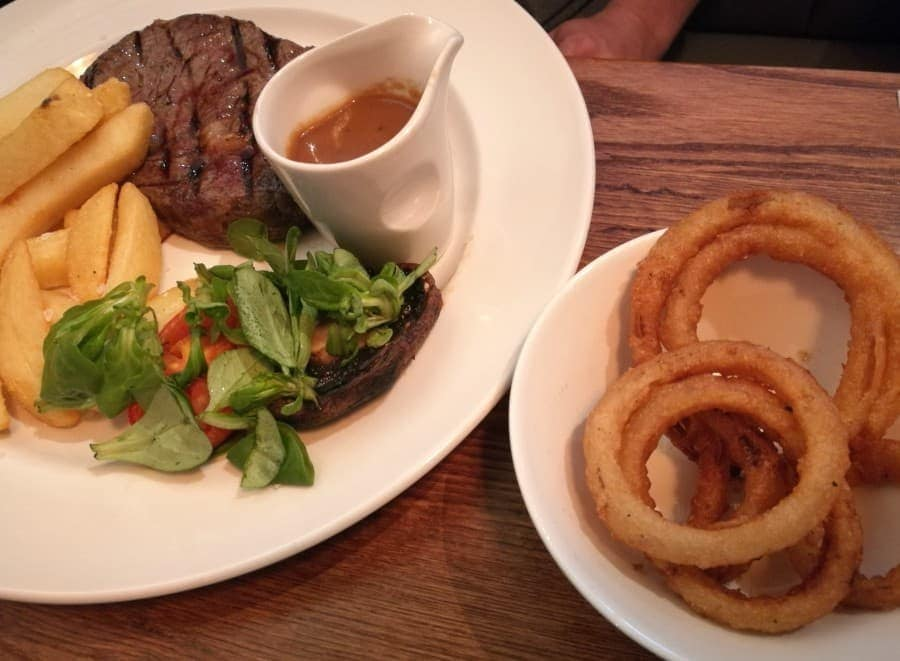 Beefeater steak - Carnon Inn