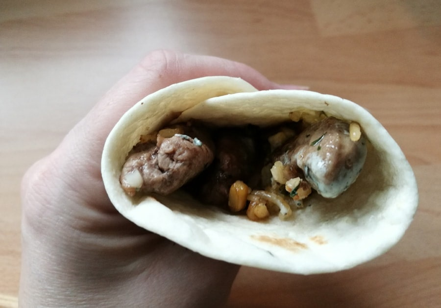 Quick Lamb Wraps recipe - Love Lamb Week
