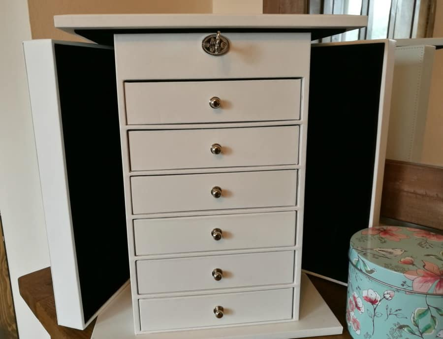 Review And Giveaway Songmics Xxl Jewellery Box A Cornish Mum