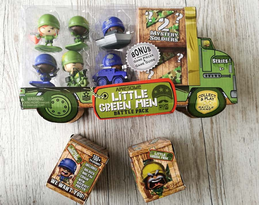 Awesome Little Green Men Giveaway
