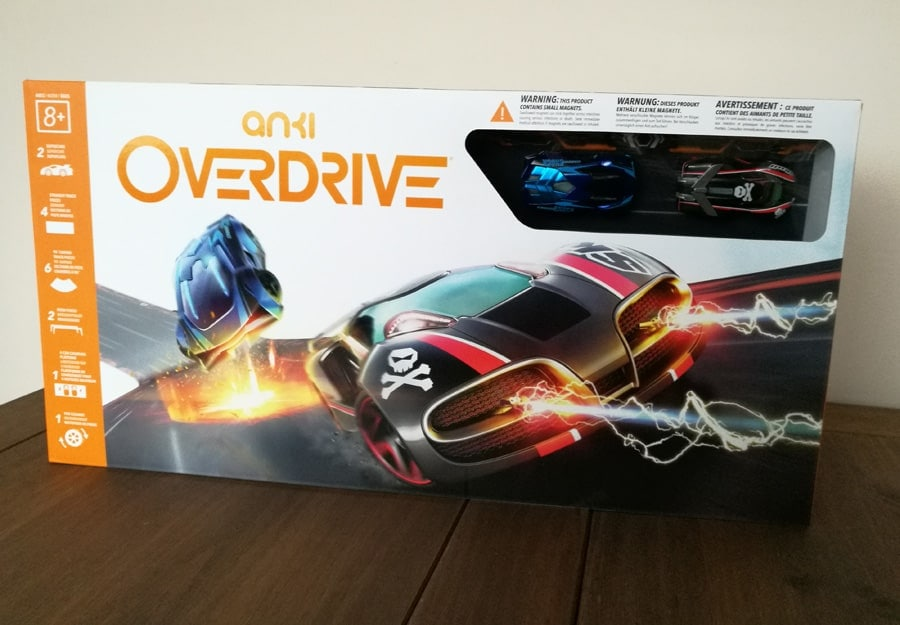 Anki OVERDRIVE in the box