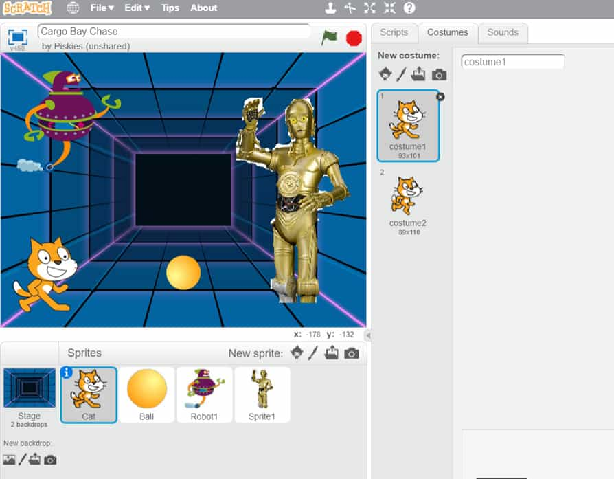 Star Wars Coding Projects Using Scratch - A Cornish Mum