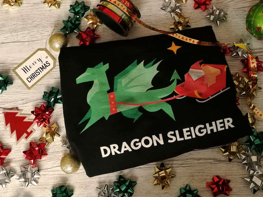 Dragon Sleigher Christmas jumper