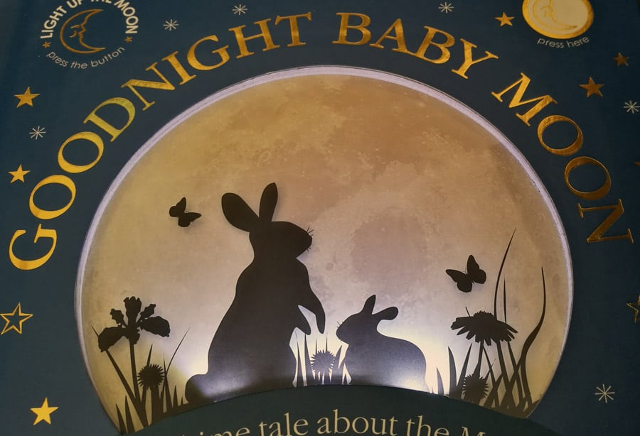 Light up book: Goodnight Baby Moon