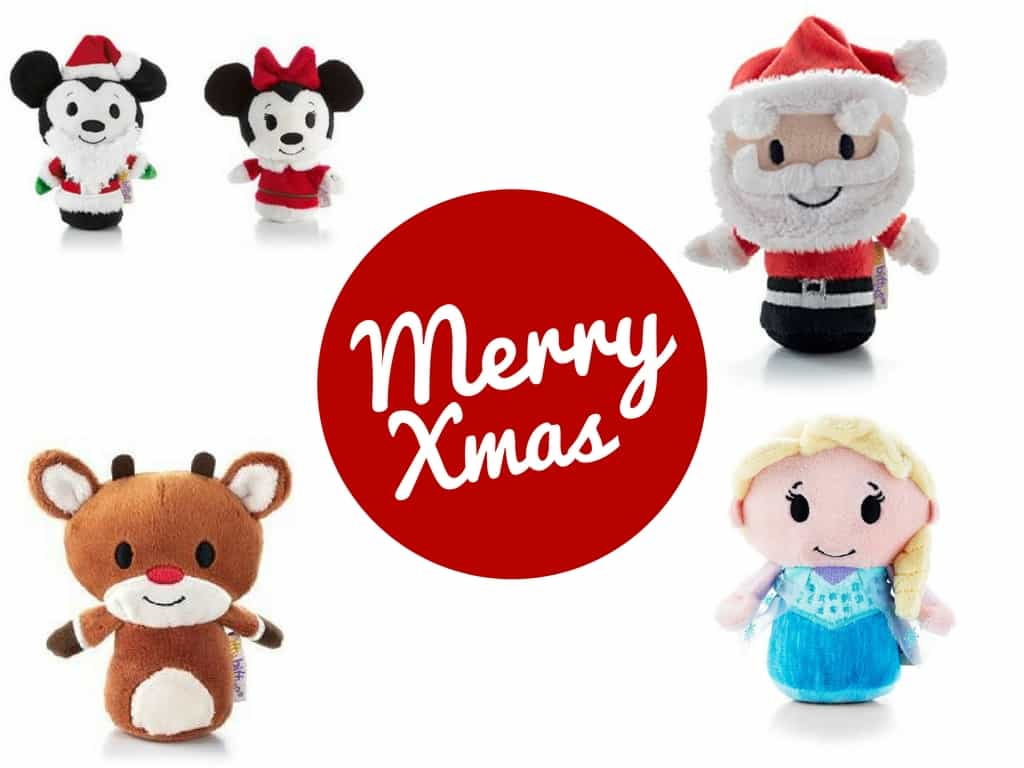 Merry Itty Bitty Christmas - itty bitty teddies
