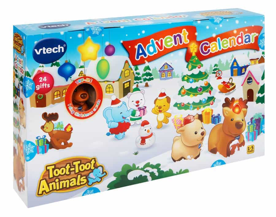 Toot Toot Animals Advent Calendar