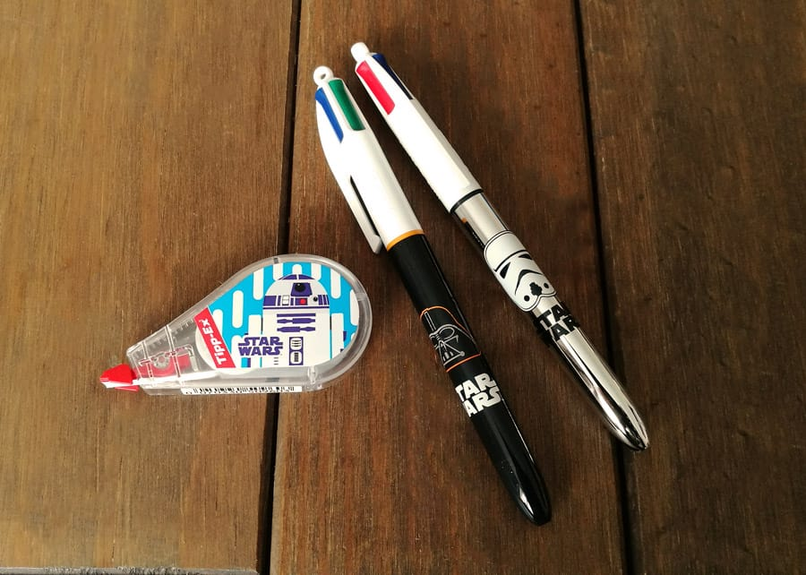 Star Wars stationery BIC