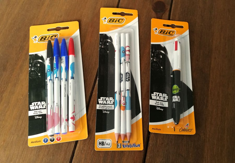 win Star Wars stationery