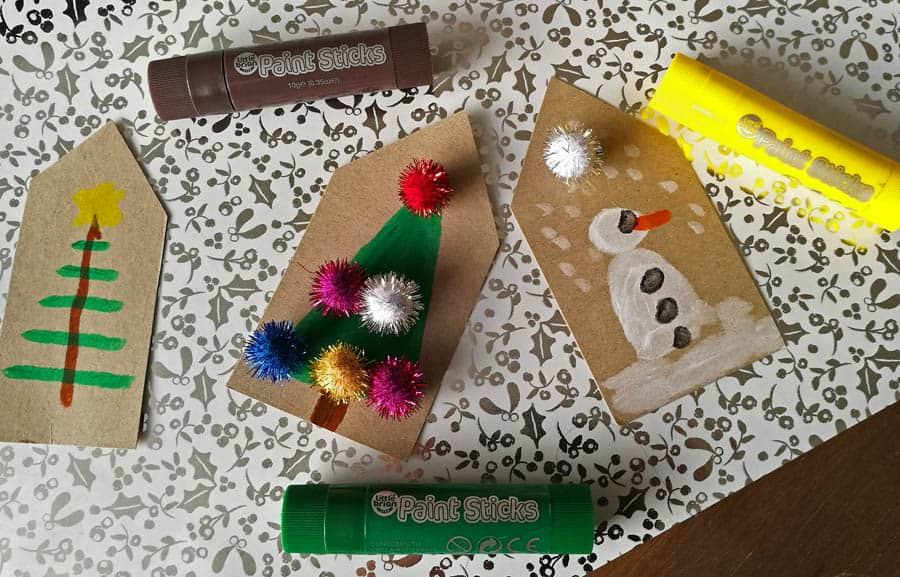 DIY Christmas Gift Tags With Colour And Fun