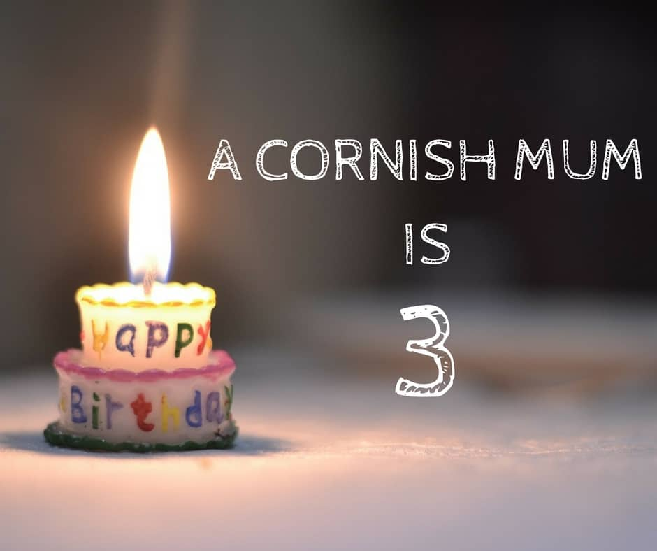 A Cornish Mum is 3 three