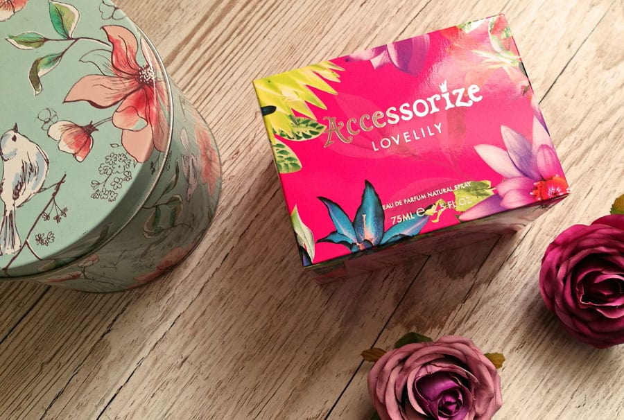 Accessorize Lovelily perfume in box